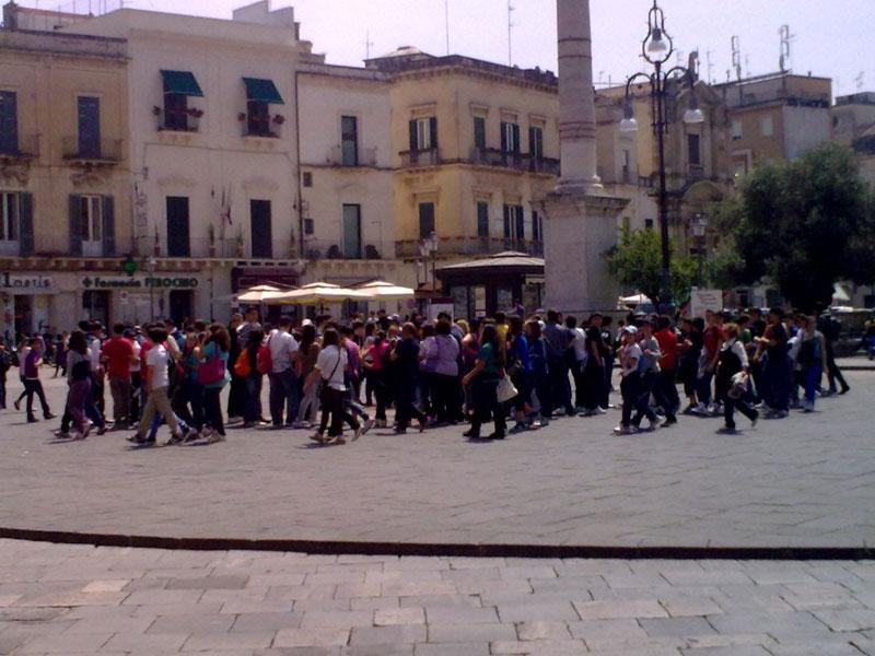 Lecce città turismo studentesco