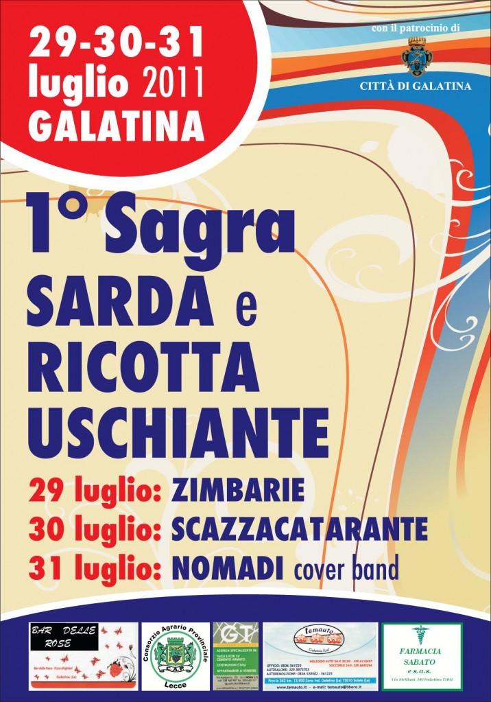Sarde e ricotta uschiante a galatina il gallo for Galatina news cronaca