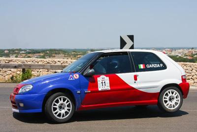 L'auto di Paolo Garzia (Foto Vantaggiato)