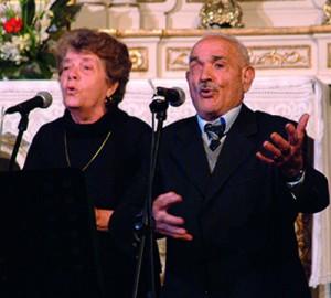 Antimo Pellegrino, uno dei più anziani cantori della Grecìa Salentina