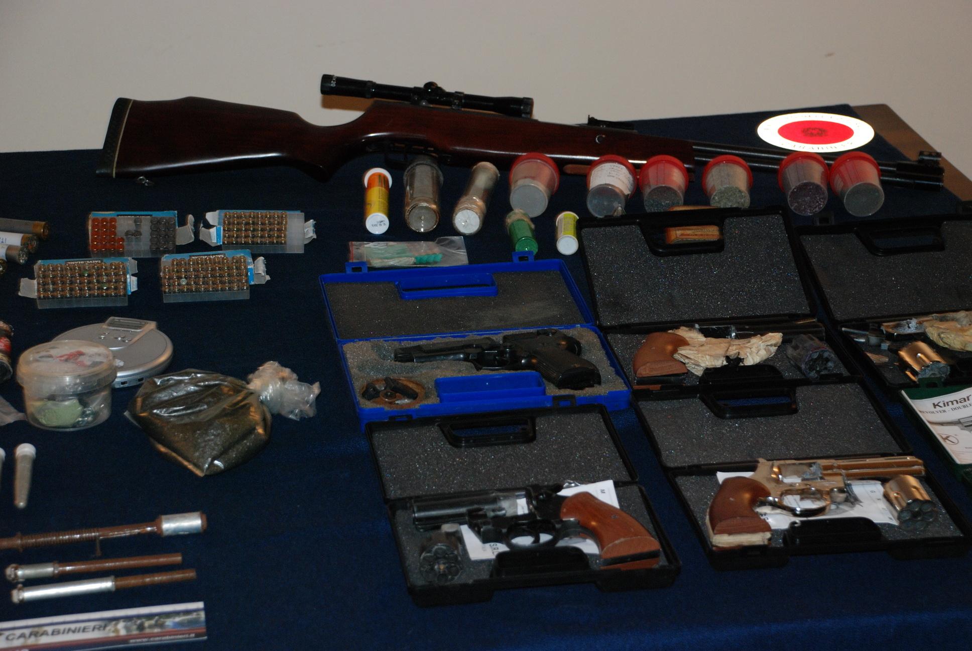Banco Da Lavoro Per Ricarica Munizioni : Scoperto laboratorio per esplosivi armi e munizioni il gallo