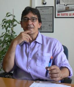 Claudio Scamardella, direttore di Quotidiano
