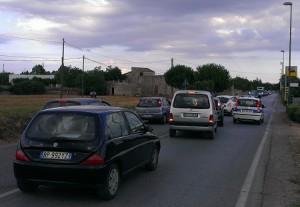 Il traffico congestionato