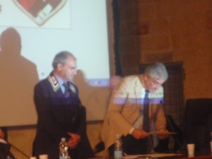 Antonio Buccoliero premia Antonio Leone