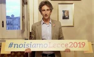 Paolo Perrone, sindaco di Lecce, ad inaugurerà l'edizione 2014 di Expo 2000