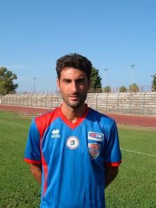 Vittorio Botrugno, per lui oggi il quinto gol in campionato.