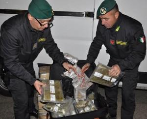 droga finanza sequestro