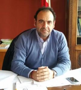 Il sindaco di Soleto, Graziano Vantaggiato