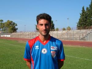 Vittorio Botrugno. Oggi ha siglato il suo dodicesimo gol in campionato.