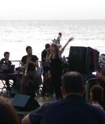 Fiorella Mannoia sul palco del Locomotive Jazz Festival