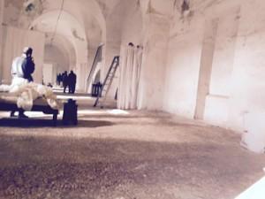 "Ancora l'ACAIT di Tricase durante le riprese di ""The little crusader"""