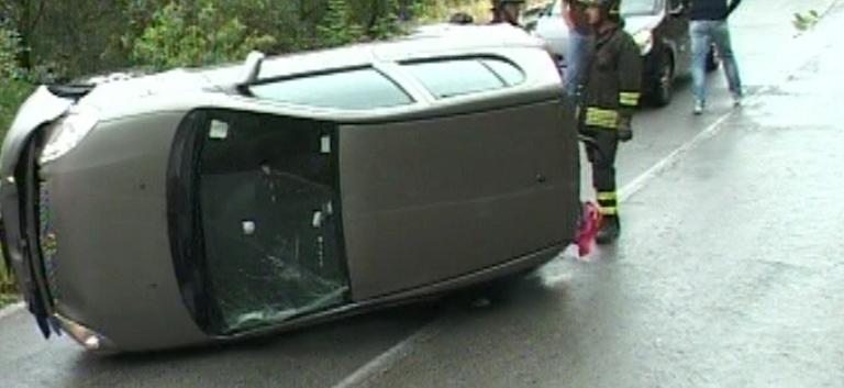cappotta auto bloccata