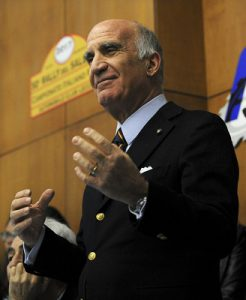 Il presidente Aci Angelo Sticchi Damiani
