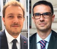 Gli avvocati Martella e Verri, legali del barista di Corsano