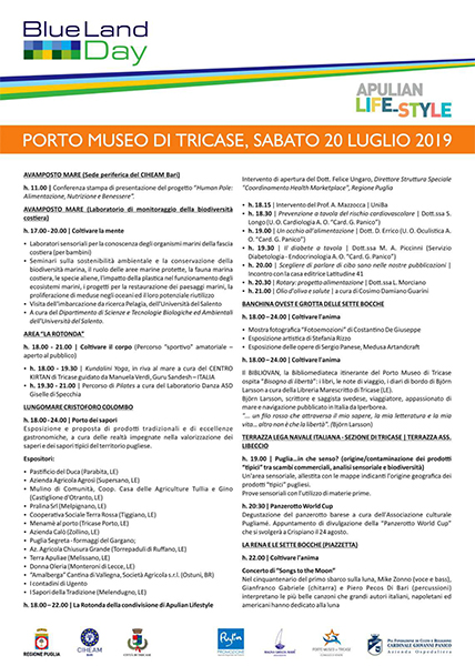 Programma 19- 20-21Luglio 2019-2