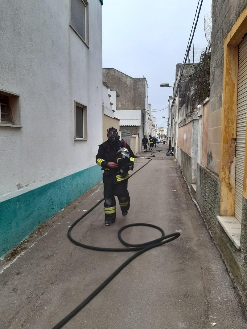 Tiggiano Incendio7