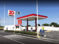 2d depressa benzina martella petroli distributore